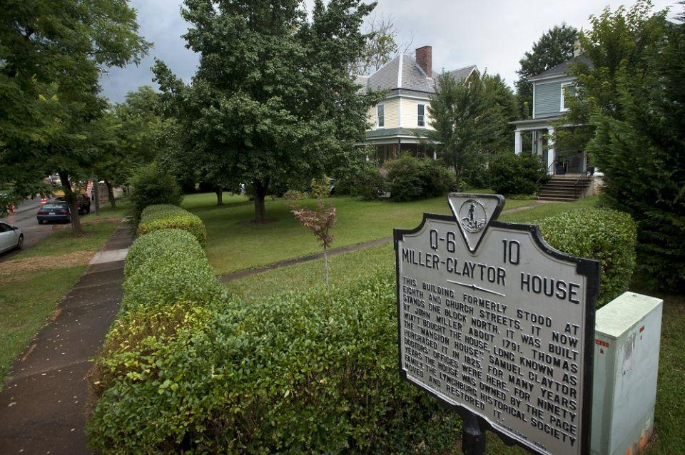 About the Miller-Claytor House | Lynchburg Historical Foundation