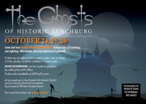 ghost tour of lynchburg