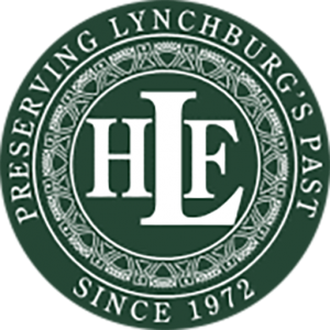 lynchburg historical foundation green logo