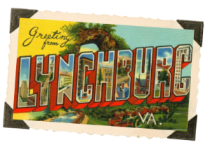 lynchburg postcard