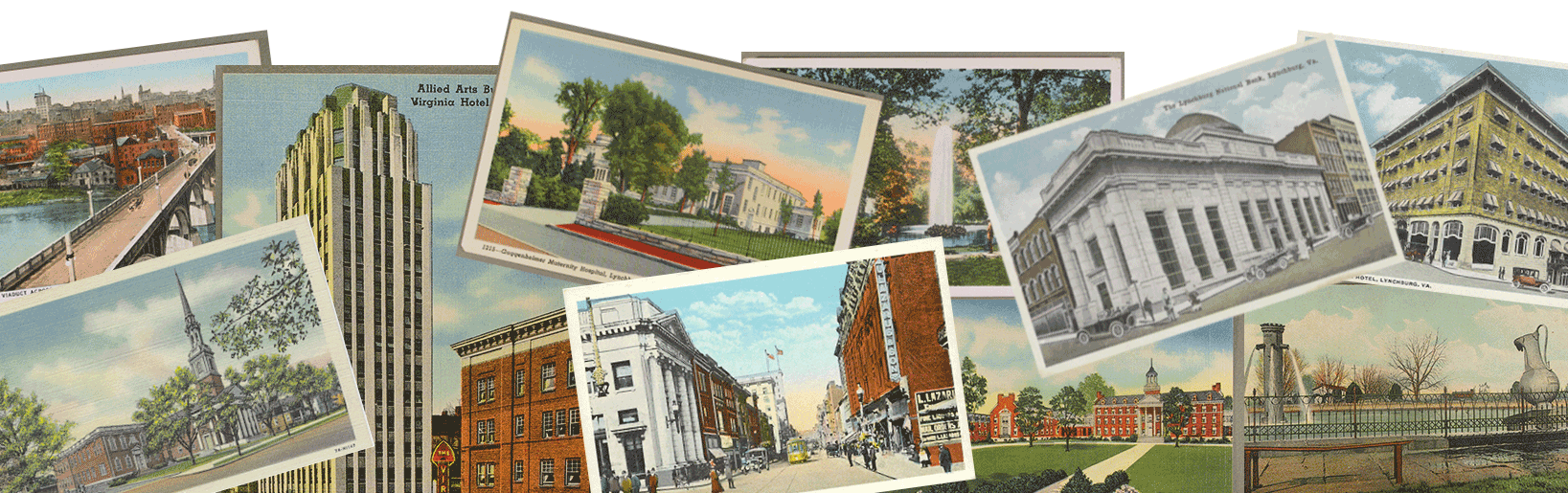 lynchburg old post cards