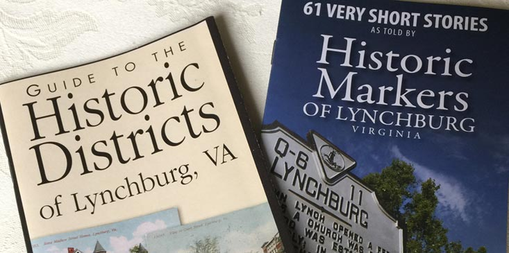historic markers and districts in lynchburg